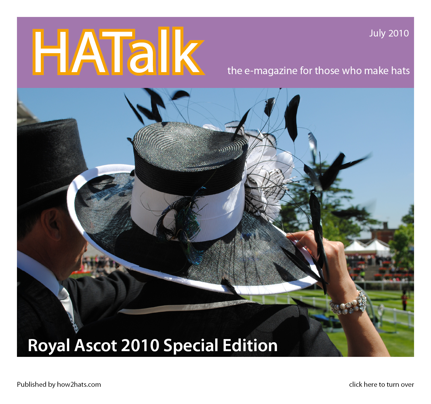 Royal Ascot 2010 Millinery Styles from HATalk e-magazine.