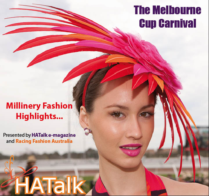 Melbourne Cup 2013 Millinery Styles from HATalk e-magazine