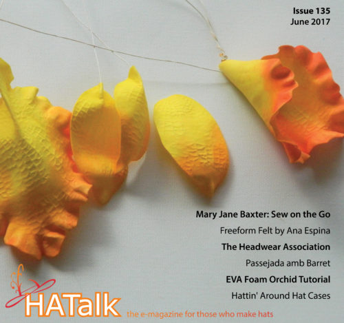 HATalk Issue 135 (June 2017). EVA Foam Tutorial by Galina Kofod.