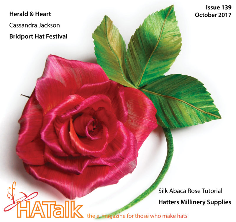 HATalk e-magazine Issue 139 (October 2017) - Cover by Anne Tomlin