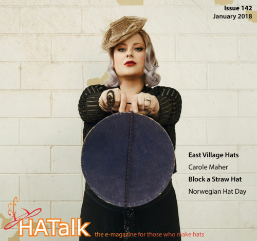 HATalk Issue 142 - Cover Jenny Pfanenstiel of Forme Millinery