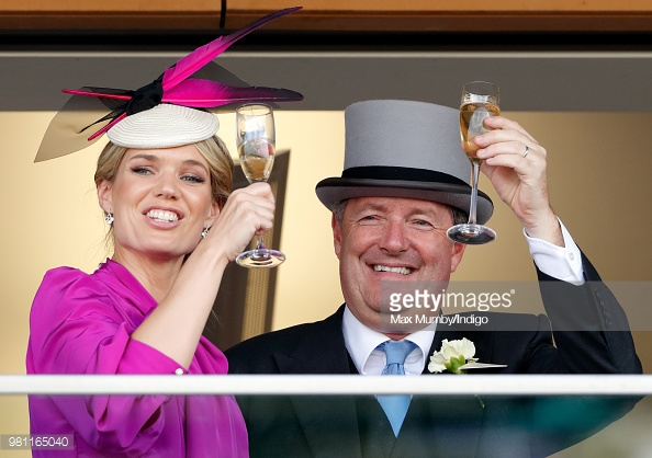 Charlotte Hawkins and Piers Atkinson Royal Ascot 2018, Getty Images