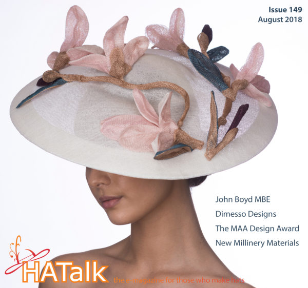 HATalk Issue 149 - Hat by MAA Design Award Winner Lisette Margini