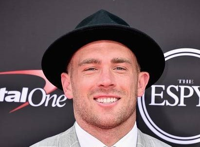 Zach Ertz at the 2018 Espy Awards, Getty Images