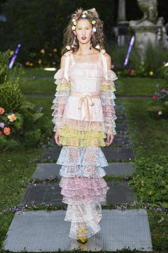 Rodarte at NYFW from Vogue