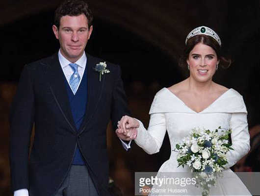 Princess Eugenie and Jack Brooksbank Wedding Getty Images