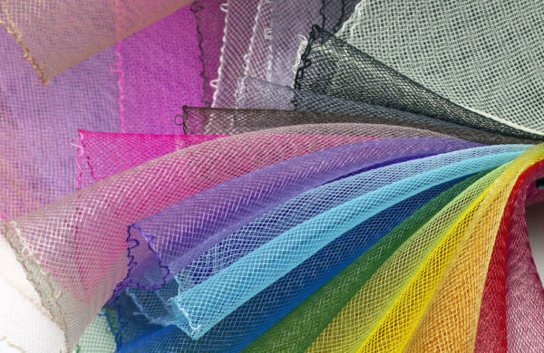 Crinoline, also known as crin or horsehair braid, is often used for millinery.
