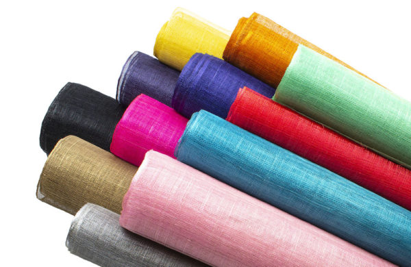 Milinery Supplies - Assorted Sinamay from Humboldt Haberdashery