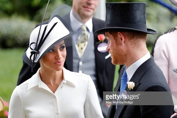 Royal Family at Royal Ascot - Meghan and Harry 2018