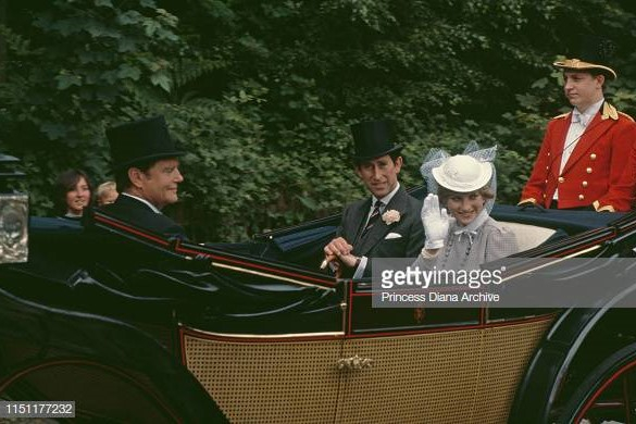 Royal Family at Royal Ascot - Princess Diana 1981