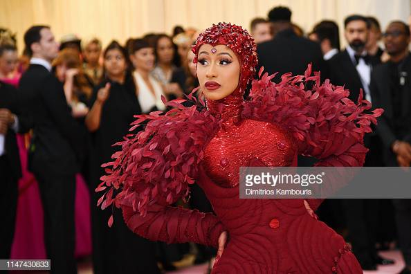 US Hat Events: Cardi B at the 2019 Met Gala, Getty Images