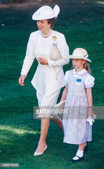 Royal Family at Royal Ascot - Princess Anne and Zara Phillips 1989, Getty Images